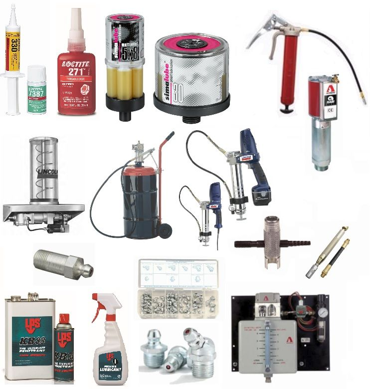 Adhesives, Sealants, Lubrication & Other Chemicals