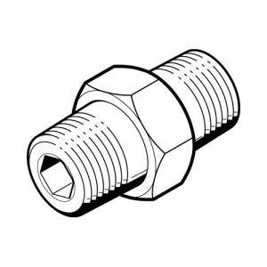 """Rückschlagventil Ventil Kompressorventil Kompressor Druckluft 1/""""IG x 1/"""" Typ4"""